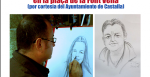Vicente Blanes, retratos y caricaturas